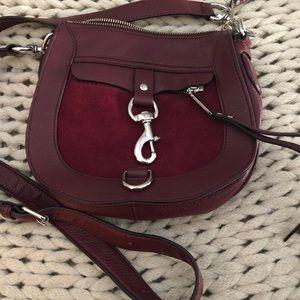 Handbags - Rebecca Minkoff Dog Clip Saddle bag in Port